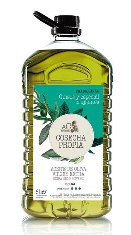 Aceites Castellar. Cosecha Propia. Selección. Picual. 3X5 Litros, 1 ud
