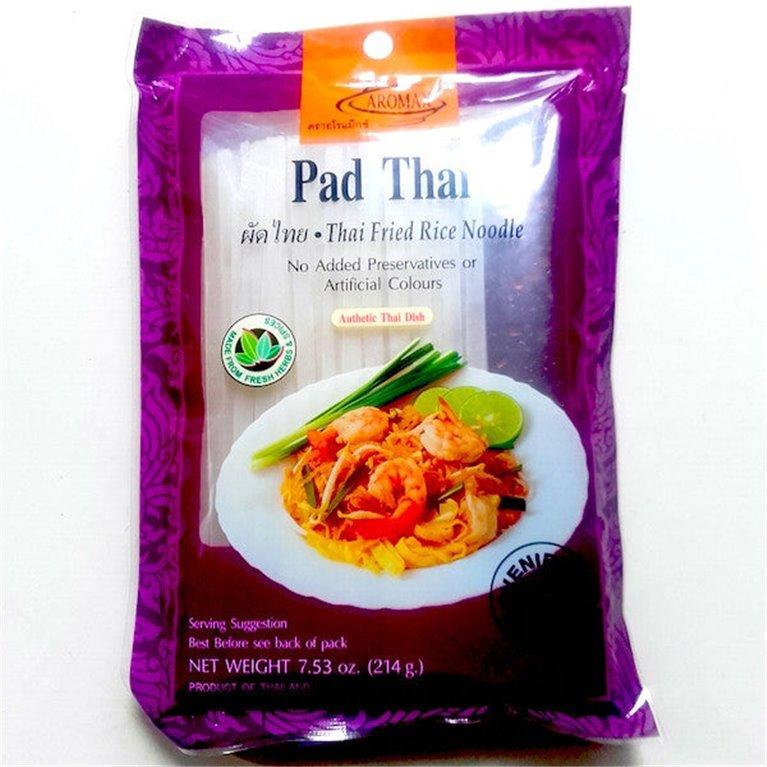 Noodles de arroz con salsa pad thai 214g