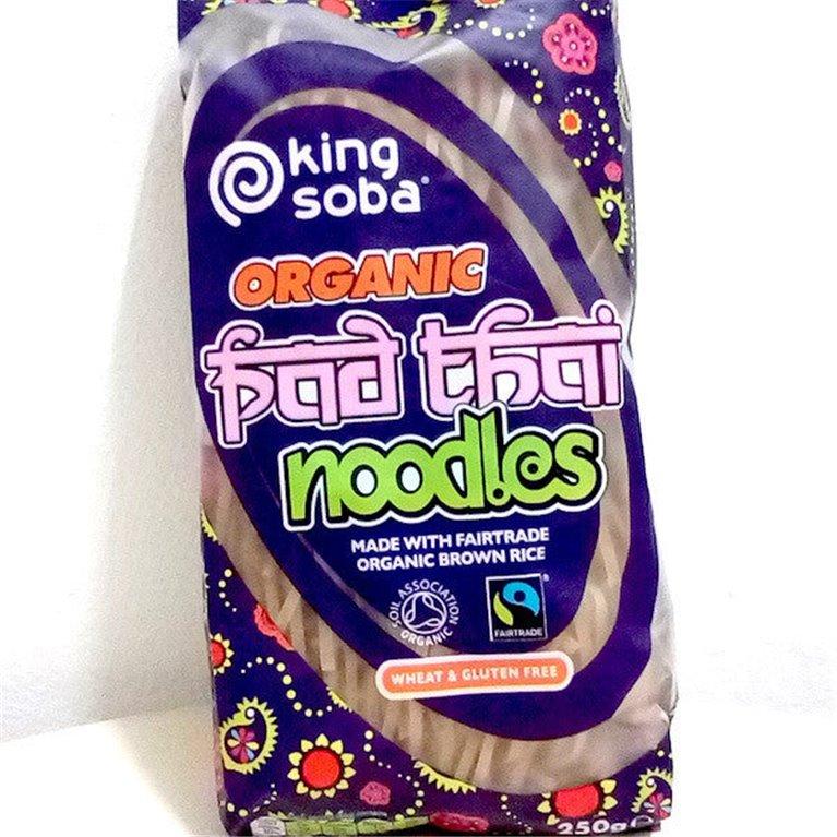 Noodles King Soba Pad Thai arroz integral