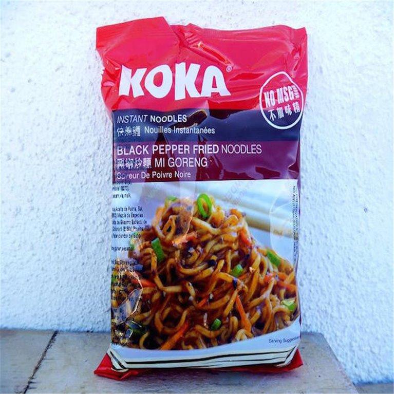 Noodles Koka a la pimienta negra