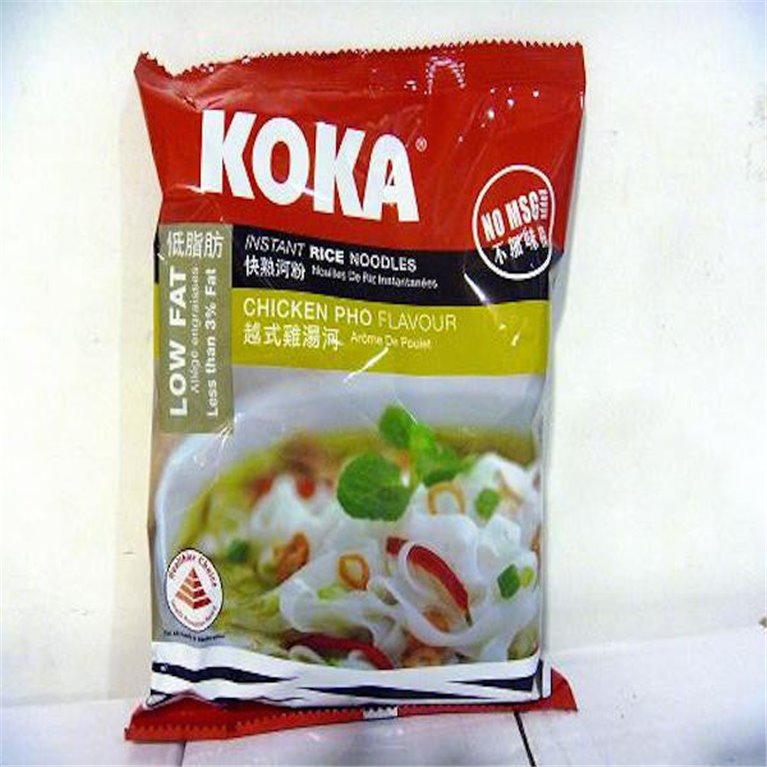 Noodles Koka arroz sabor pollo pho