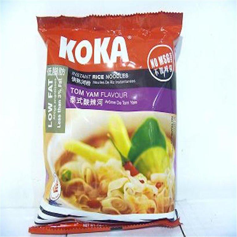 Noodles Koka arroz sabor tom yum