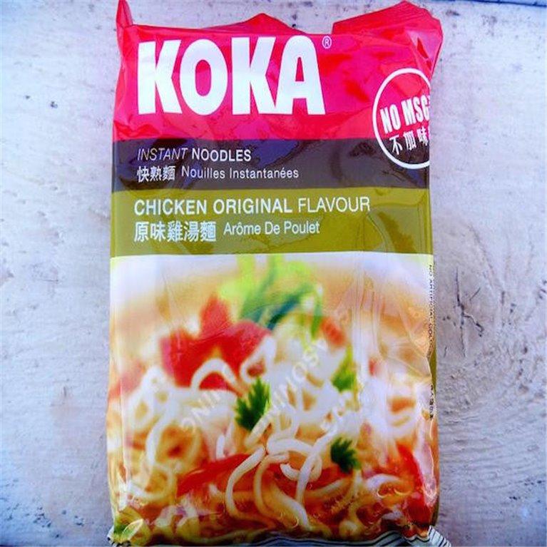 Noodles Koka sabor a pollo 80g