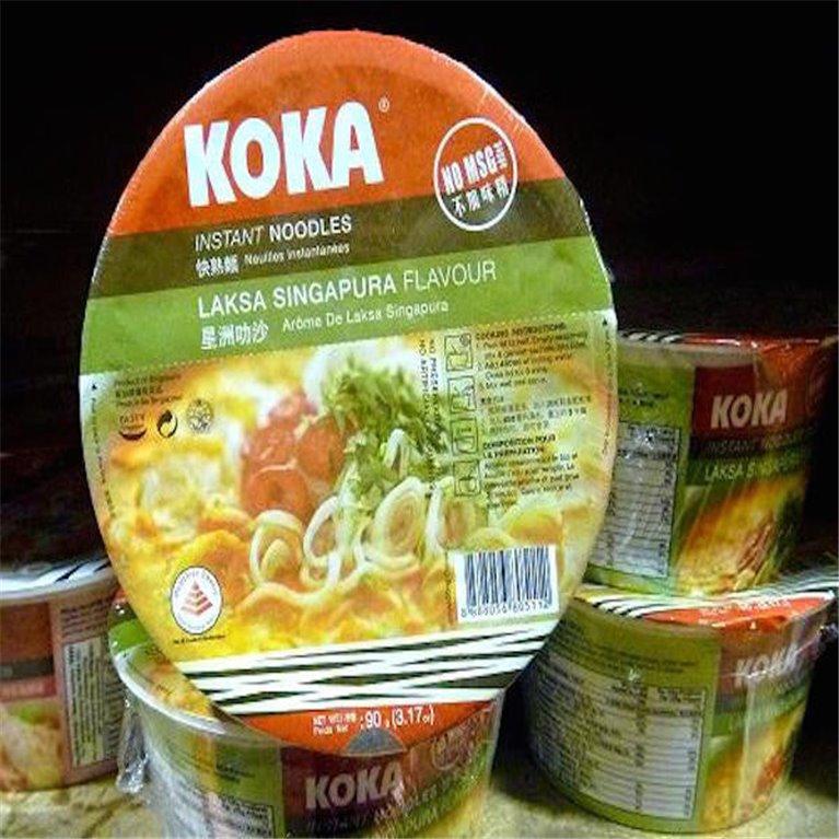 Noodles Koka sabor Laksa