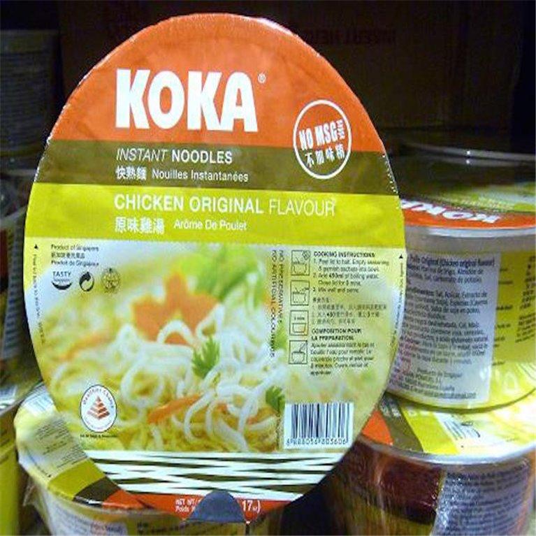 Noodles Koka sabor pollo