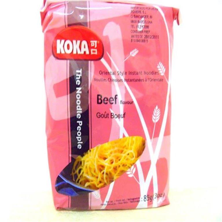 Noodles Koka sabor ternera 80g