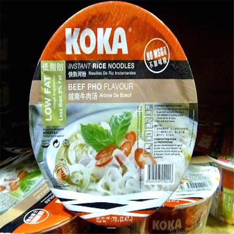 Noodles Koka sabor ternera Pho
