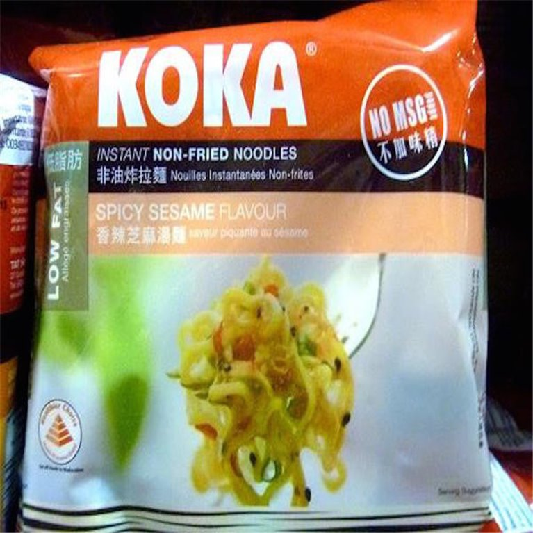 Noodles Koka sésamo picante pack de 5