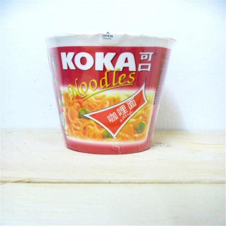 Noodles ramen Koka sabor curry 80g