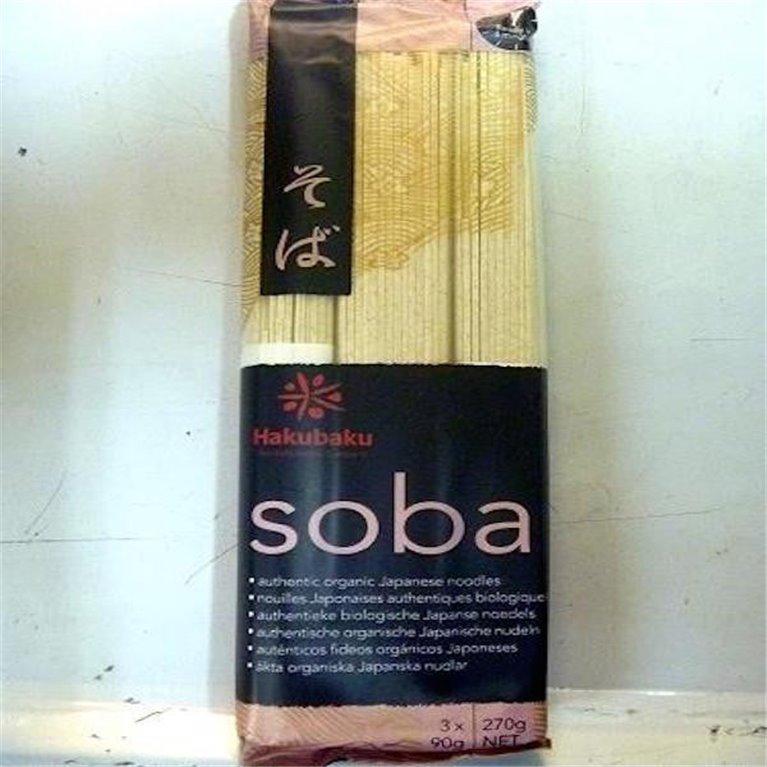 Noodles Soba cultivo ecológico 270g