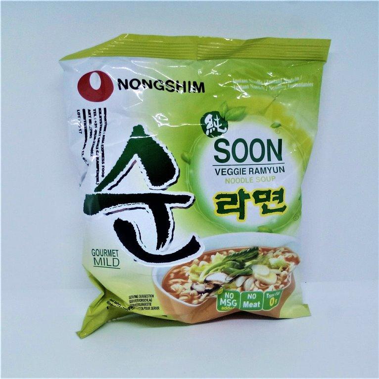 Noodles vegetarianos Corea
