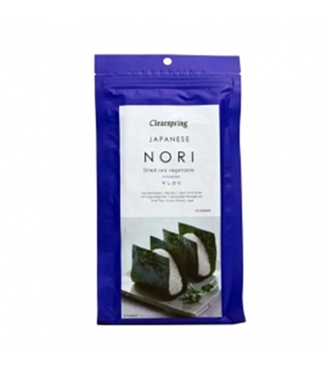 Nori leaves 25gr. Clearspring. 6 pcs
