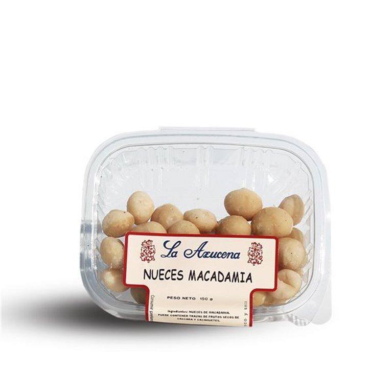 Nueces de Macadamia La Azucena. Envase de 150g