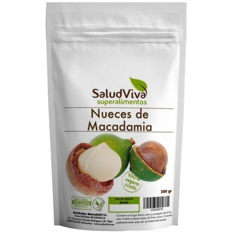 Nueces Macadamia Bio 200g