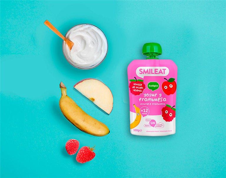 New Raspberry Yogurt Pouch