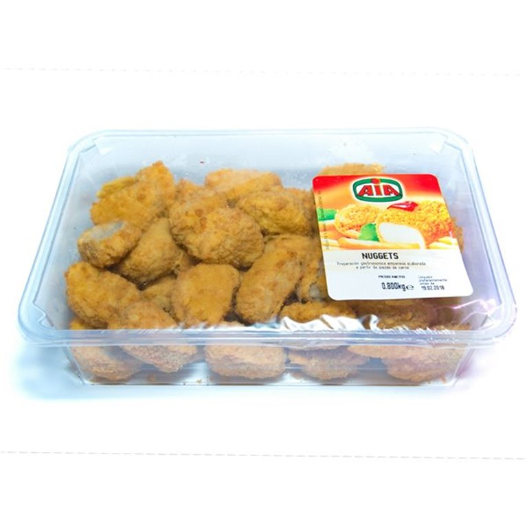 Nuggets de pollo frescos