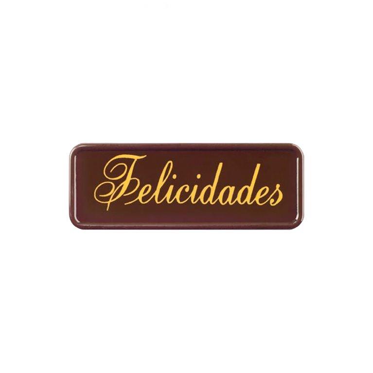Oblea Chocolate Felicidades