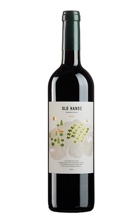 OLD HANDS - Tinto Ecológico Monastrell 2015, 0,75 l