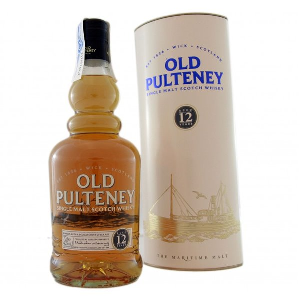 OLD PULTENEY 12 YO 0,70 L. + ESTUCHE