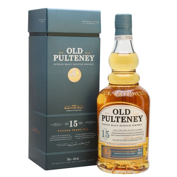 OLD PULTENEY 15 YO 0,70 L. + ESTUCHE