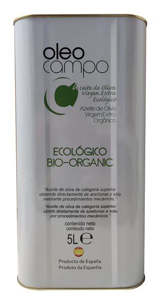 Oleocampo ecológico. Lata de 5 litros.