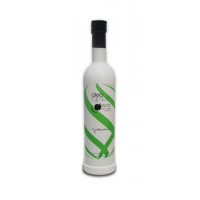 Oleocampo Premium. Picual. Caja de 12 botellas de 500 ml.
