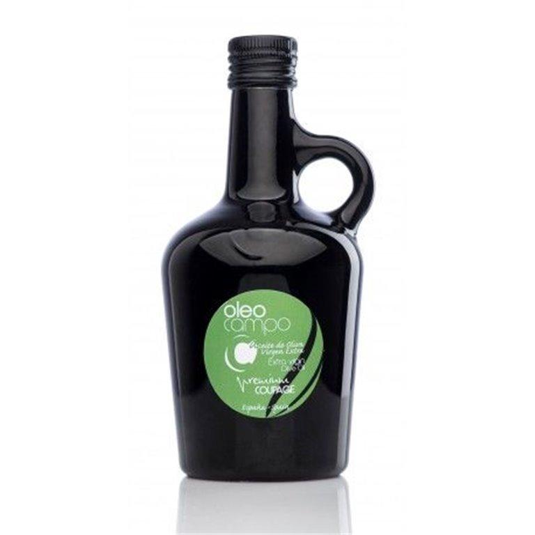 Oleocampo premium.Variedad coupage. Jarra 500 ml. Caja 12 uds.