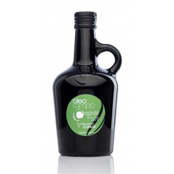 Oleocampo premium. Variedad coupage. Jarra 500 ml. Caja 12 uds.
