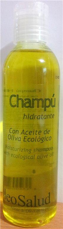 Oleosalud. Champú hidratante con aceite de oliva ecológico. 200 ml.