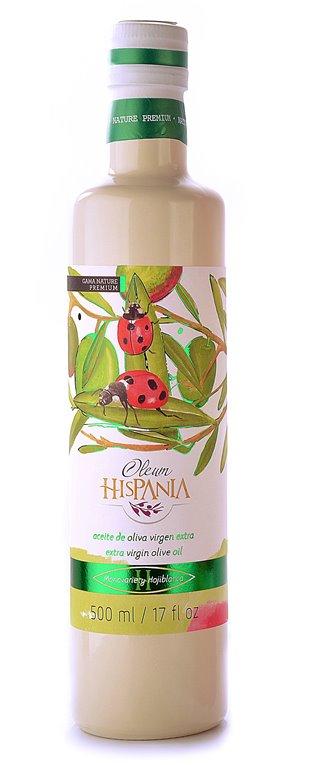Oleum Hispania hojiblanca.  Botella de 500 ml., 1 ud