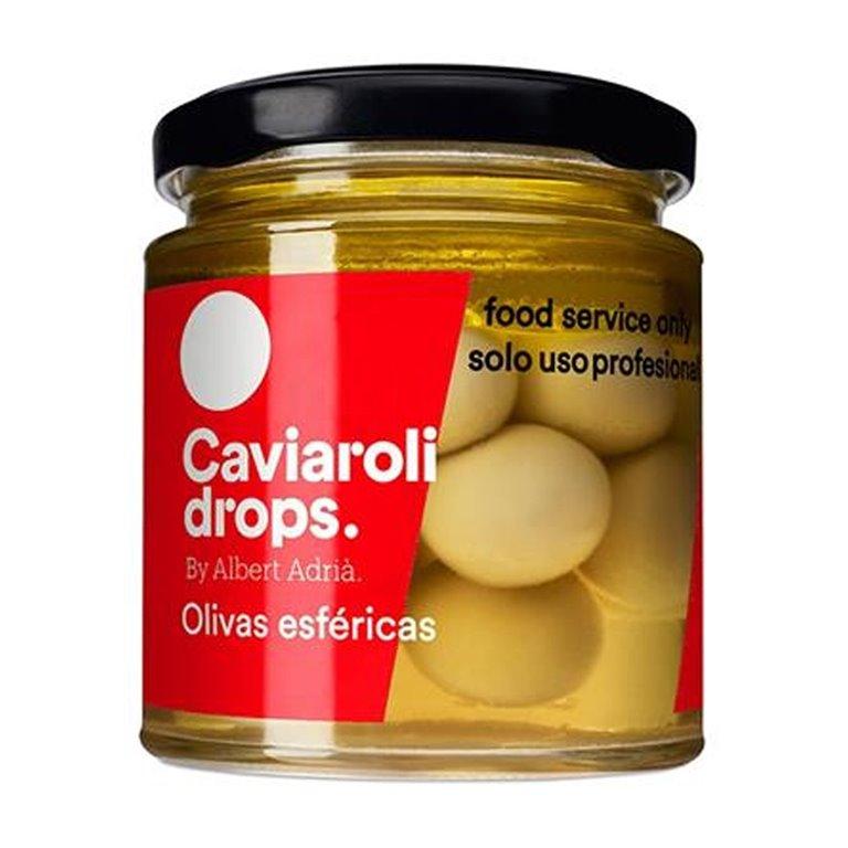 Oliva Picante Esférica Drops (18 olivas) 90gr. Caviaroli. 4un., 1 ud