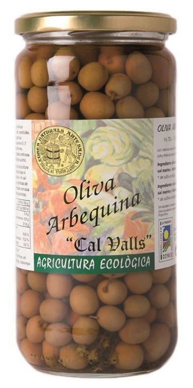 Olivas Arbequinas Bio 350g