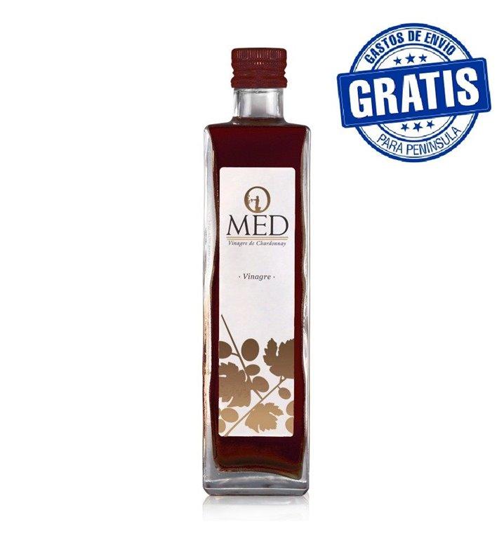 Omed. Vinagre de vino Cabernet Sauvignon. Caja de 9 unidades.