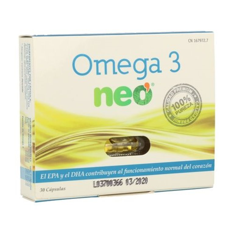 Omega-3 Neo 30 Cápsulas Líquidas