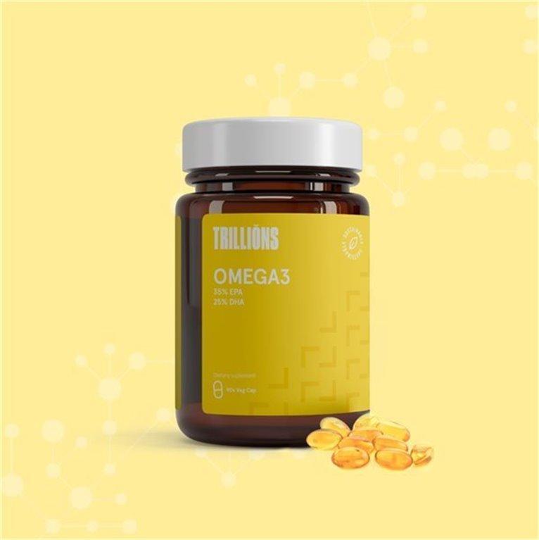 Omega 3 pro 35% EPA + 25% DHA Trillions 90 Softgel