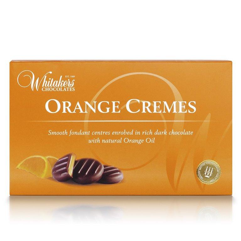Orange Cremes 150gr. Whitakers Chocolates. 14un., 1 ud