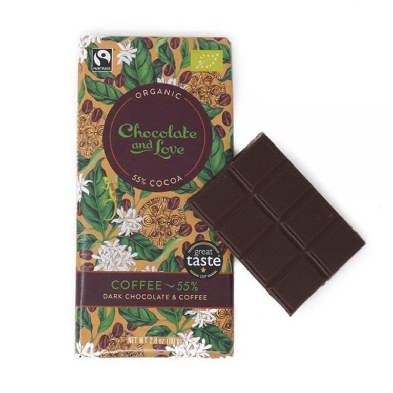 Organic Chocolate and Love - Coffee, 1 ud