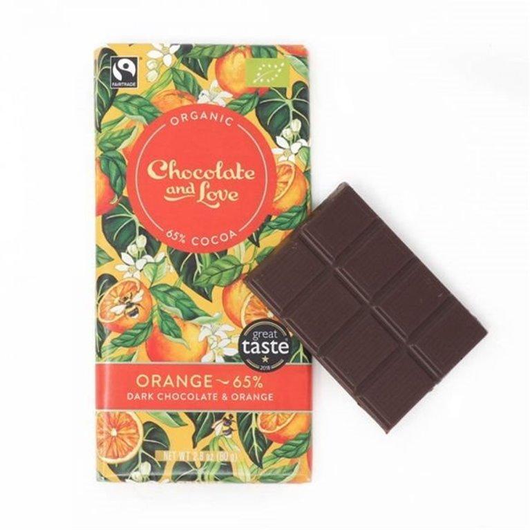 Organic Chocolate and Love - Orange, 1 ud