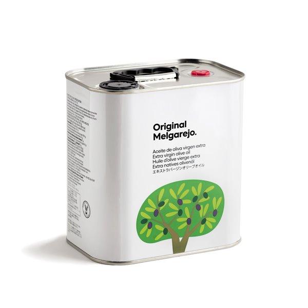 Original Melgarejo. AOVE Picual. Lata de 2,5 litros.