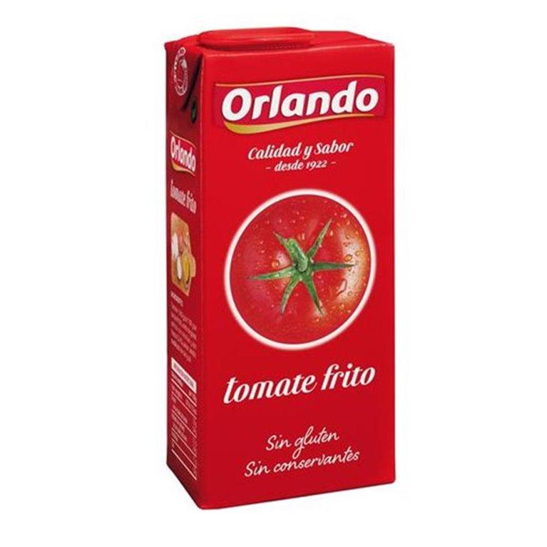Orlando - Tomate frito 350 gr (sin gluten ni conservantes), 1 ud
