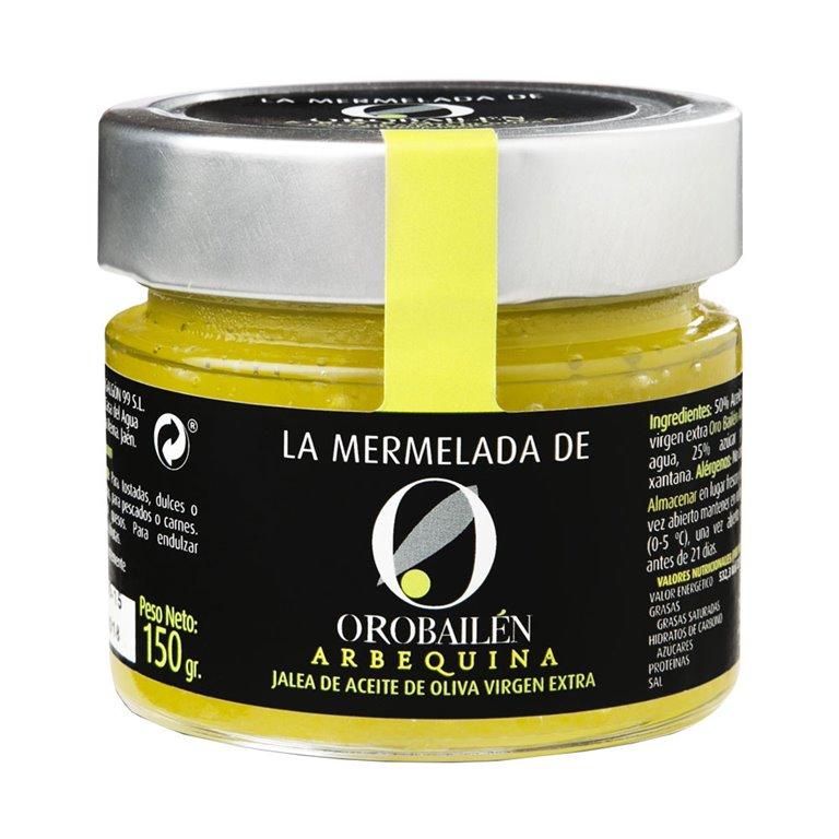 Oro Bailén - Mermelada  - Arbequina - 12 Tarros 150 gr