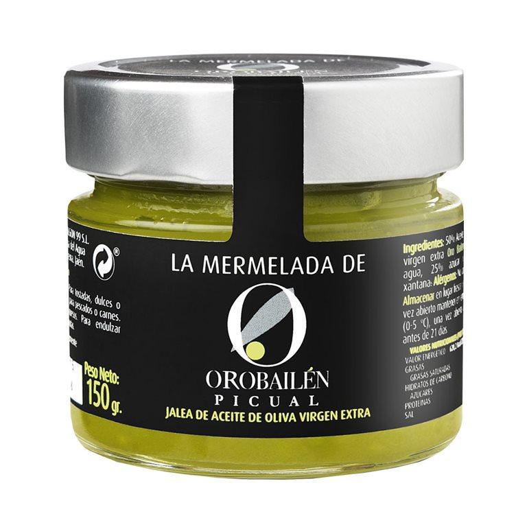 Oro Bailén - Mermelada  - Picual - 12 Tarros 150 gr