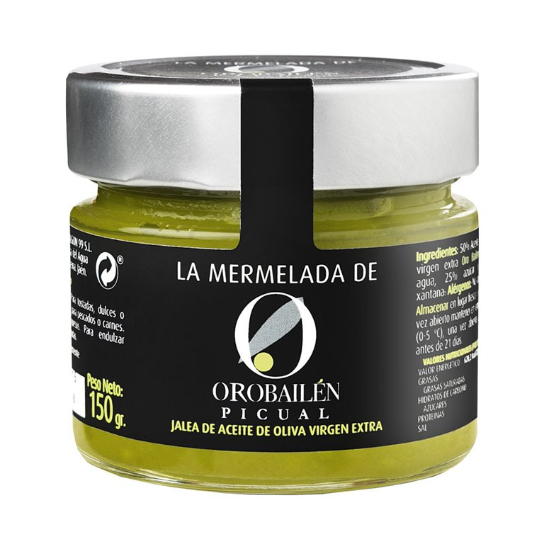 Oro Bailén - Mermelada  - Picual - Tarro 150 gr