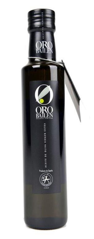 Oro Bailén Reserva Familiar Picual. 250 ml cilíndrica, 1 ud