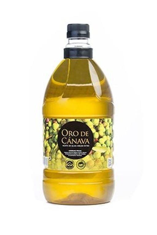 Oro de Cánava. Aceite de oliva Picual. 2 litros