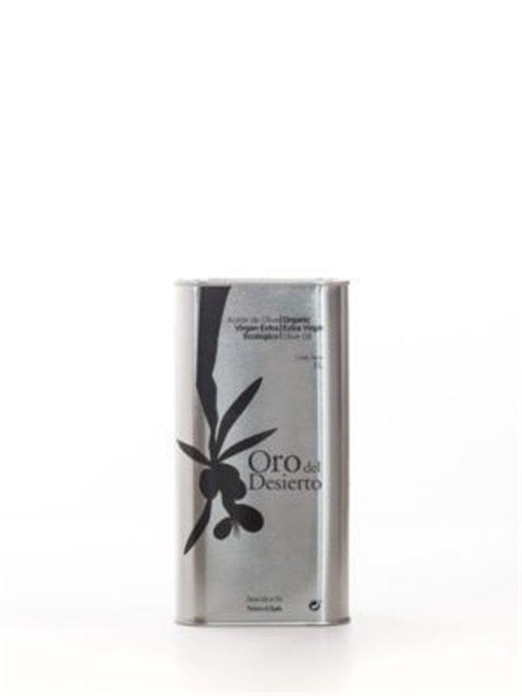 Oro del Desierto. Aceite de oliva Ecológico. Caja de 6 x 1 Litro.