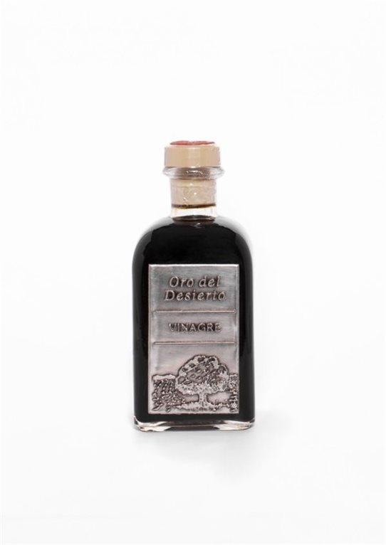 Oro del Desierto. Vinagre balsámico Eco. Botella de 250ml. Caja de 16 uds.