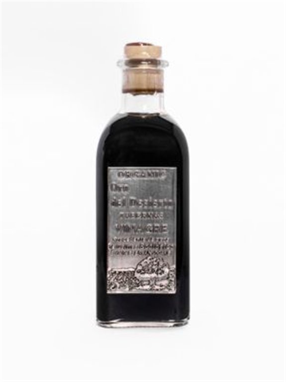 Oro del Desierto. Vinagre balsámico Eco. Botella de 500ml. Caja de 12 uds., 1 ud