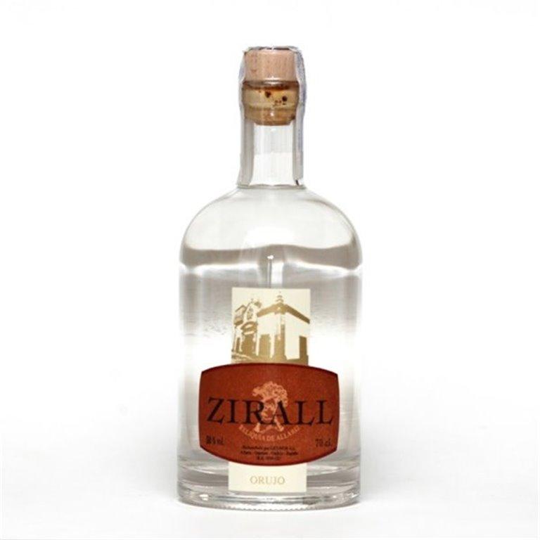 Orujo Blanco Zirall, 1 ud
