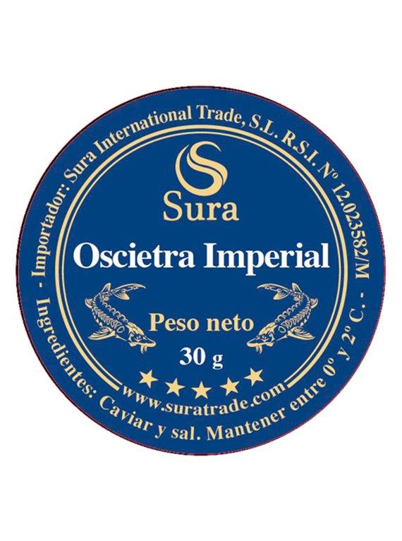 Oscietra Imperial Iraní Sura Caviar